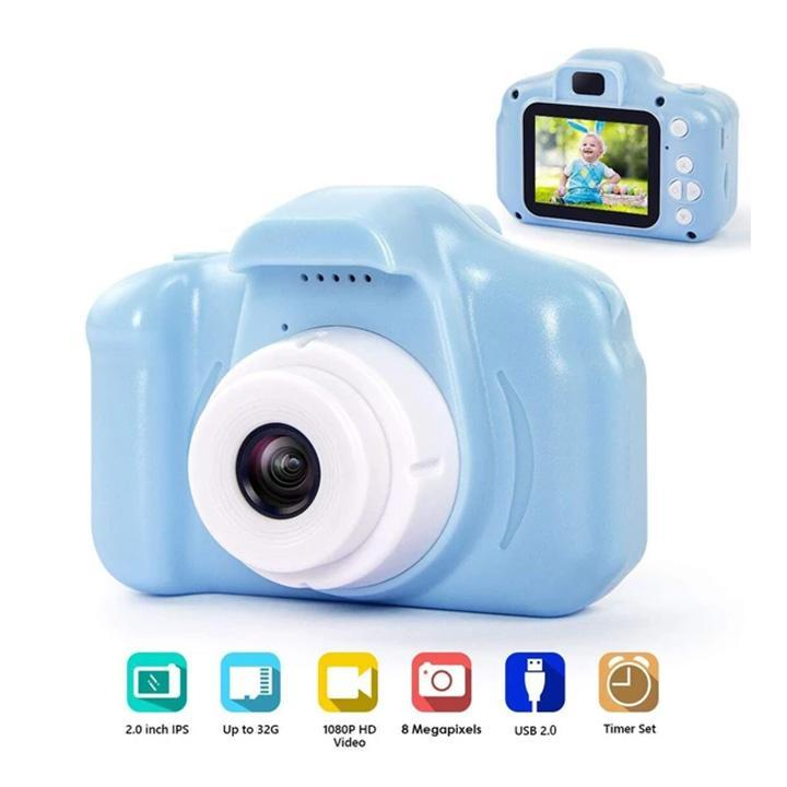 2019 Chrismas Best Gift For Kids! 1080P 2.0 Inch Screen Rechargeable Kid's Camera!