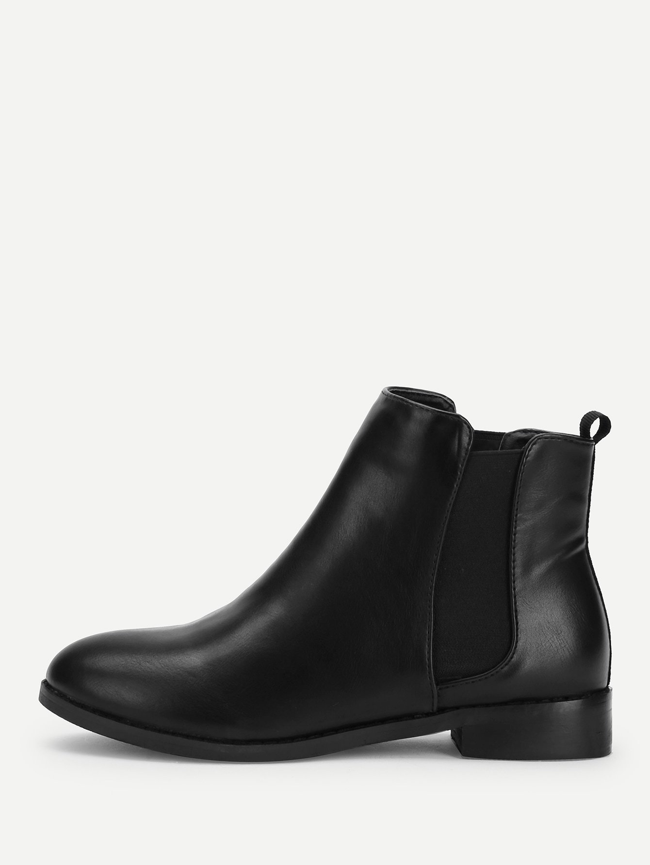 PU Chelsea Ankle Boots
