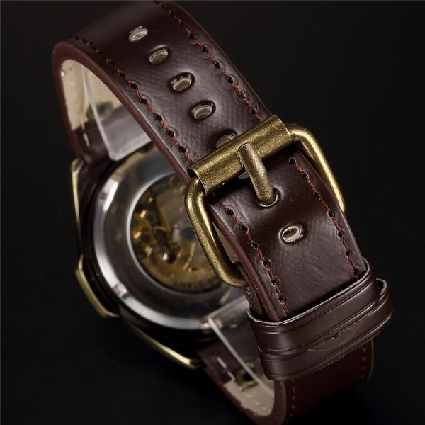 LeMay™ - Steampunk Pilot's Skeleton Watch