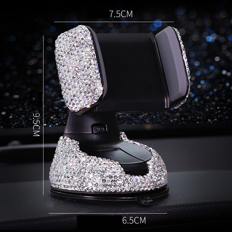 🎉Winter Sale 30% OFF - Car Phone Holder With Crystal Rhinestones - 🔥BUY 2 FREE SHIPPING🔥
