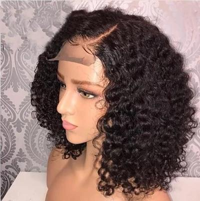 Luna Lace Front Wig S12 Gorgeous Curly Bob Collar Length for Black Women