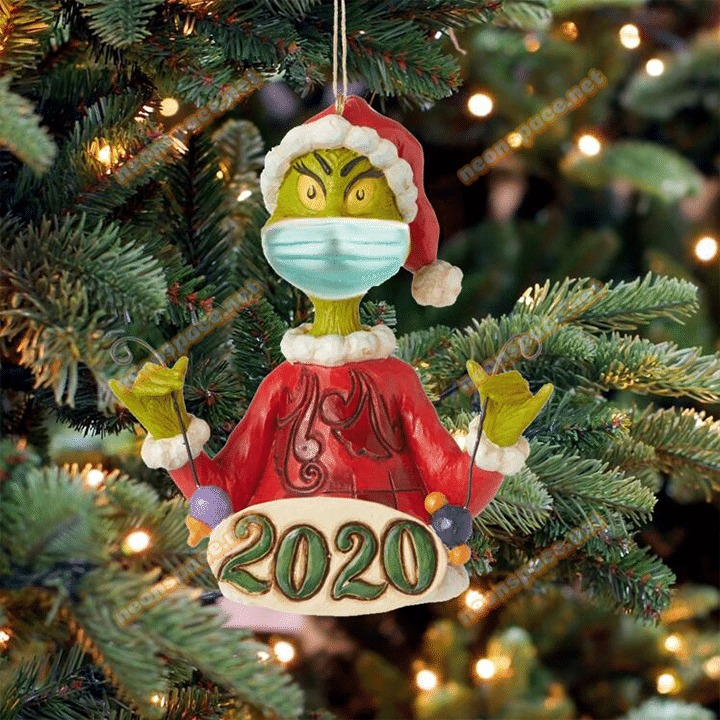 2020 Grinch Christmas Ornaments Gleaniat