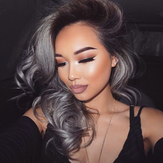 2020 New Gray Hair Wigs For African American Women Good Lace Front Wigs Natural Hair Colour For Grey Hair Denki Wig Blonde Synthetic Wig Wig Net