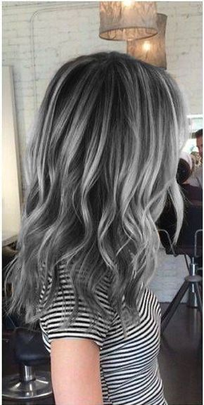 Gray Hair Wigs For African American Women Ventilating Needle Short Gray Wigs Blond Lace Front Wig Balayage Wig Hair Color For Gray Hair