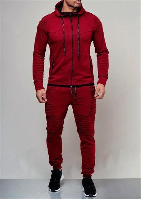 (Buy 2 FREE SHIPPING) Mens 2 Piece Lex Speed Tracksuits