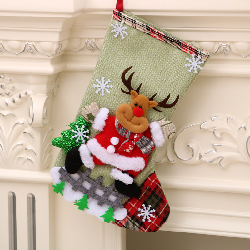 New Year 2021 Gifts Bag Christmas Stocking