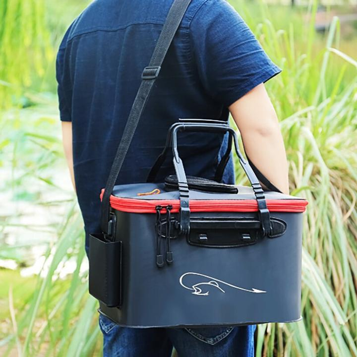 【Last Day Promotion - 50% OFF -】Large Capacity Foldable Waterproof Fishing Bucket - Live Fish Container