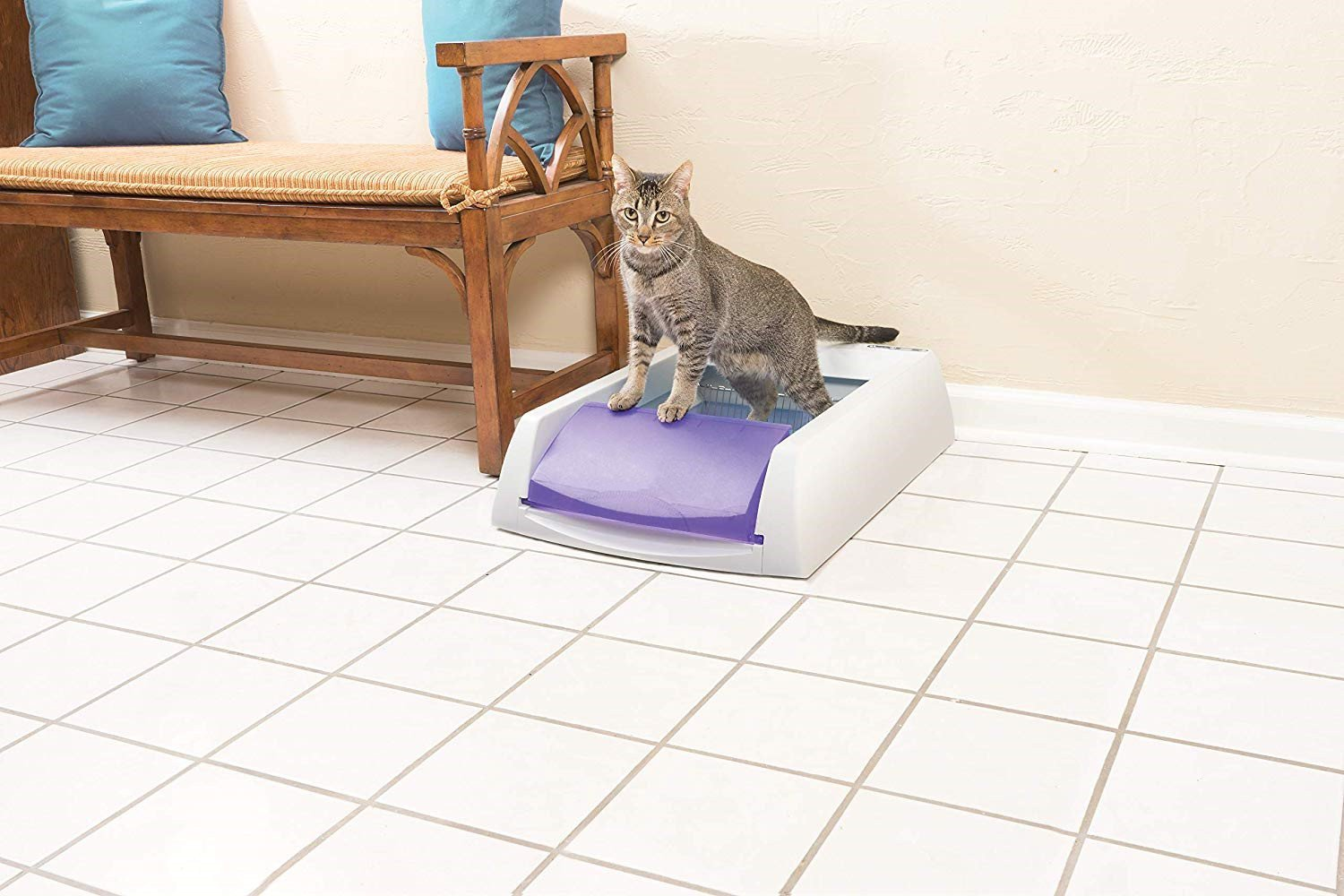 Original Self-Cleaning Cat Litter Box