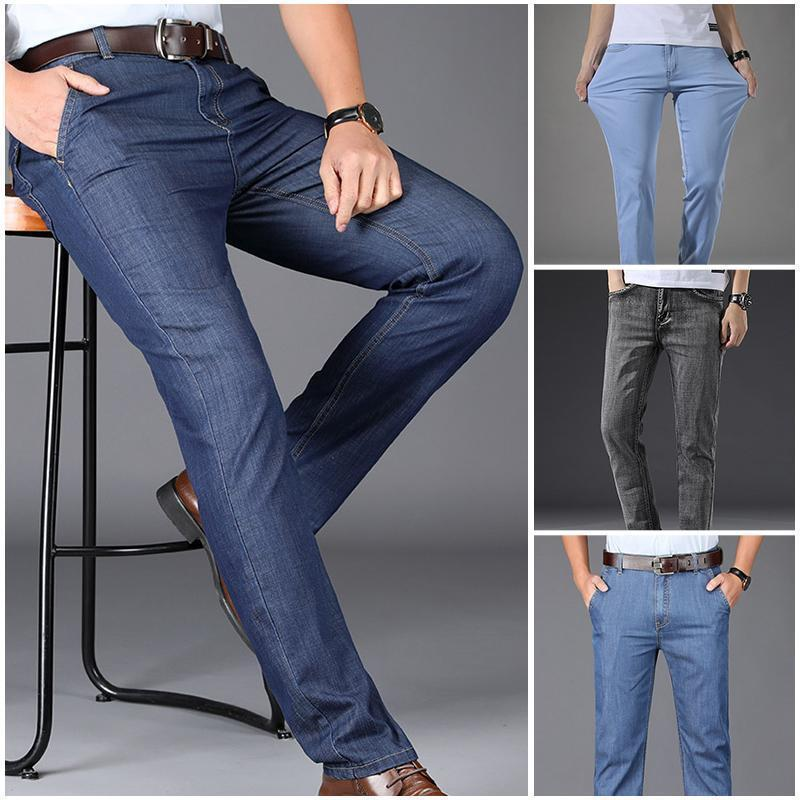 Higomore™ Men's micro-elastic breathable ultra-light jeans