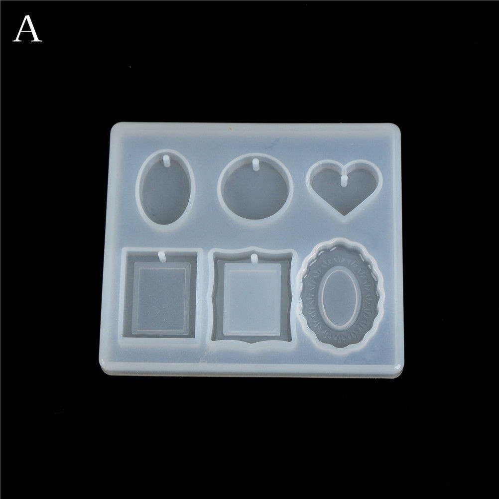 Liquid Resin Silicone Mold DIY Geometric Triangle Mirror Craft resin for Jewelry Making necklace pendant Decorative Cake Mold