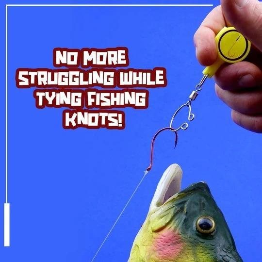 Buy More Pay Less Today - Fishing Gear Knot Tying Tool