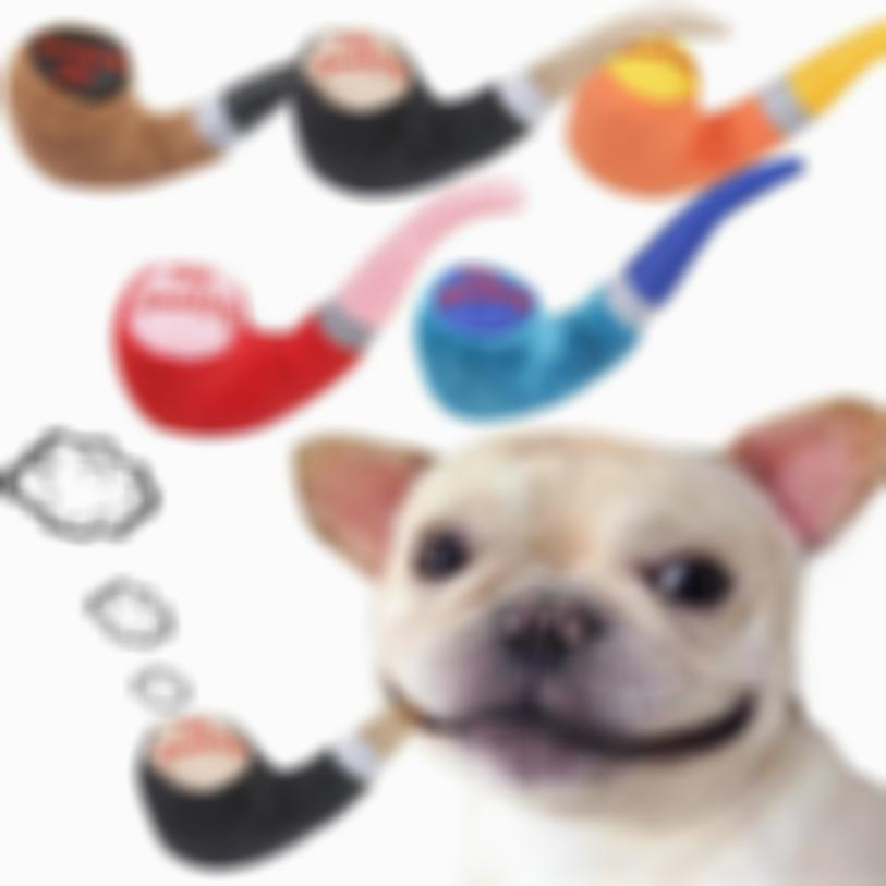 AHOME7 Dog Pipe Toy Pipe Shape Plush Dog Pet Toys Training Puppy Chew Toy