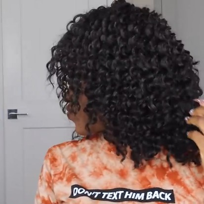 Special OFF |  New Perfect Fashion Shinning Curly Wig