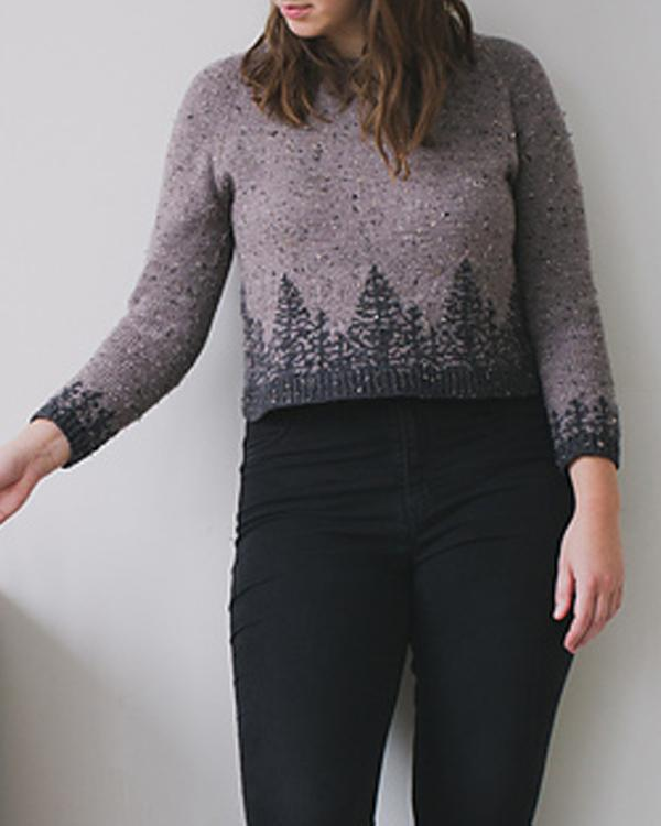 Fall Vintage Casual Long Sleeve Sweater