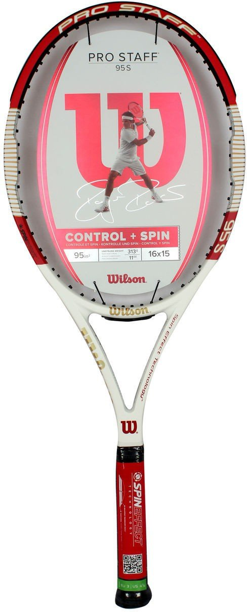 Wilson Pro Staff 95 LS Multicolor Unstrung Tennis Racquet  (Pack of: 1, 313 g)