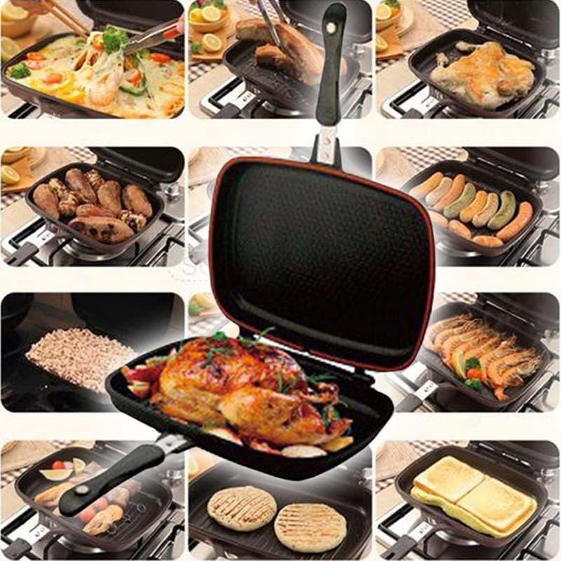 Double Sided Grill Pan - lxnyeg
