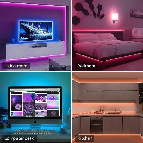 Remote Control LED Strip Lights