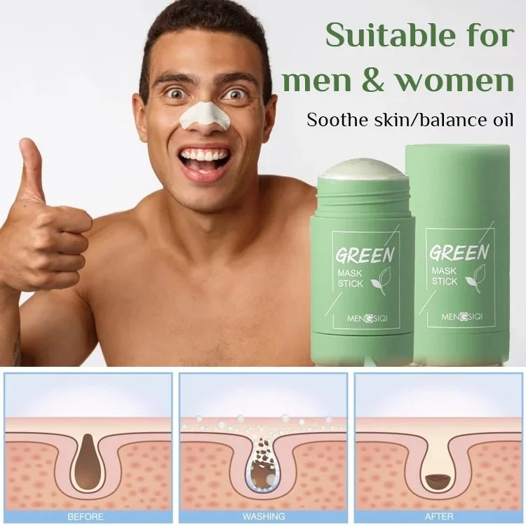 (Women's Day Sale- Save 50% OFF) Cleansing Facial Mask Stick for All Skin Types (Women & Men)⚡⚡Buy 3 Get 50% OFF