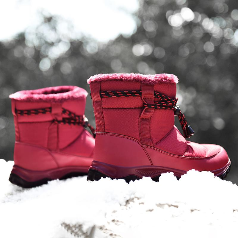Women's Warm And Velvet Snow Boots