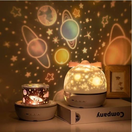 (SUMMER HOT SALE-50% OFF)360 Rotation Starry Sky Projector--Buy 2 Get 10% OFF & Free Shipping
