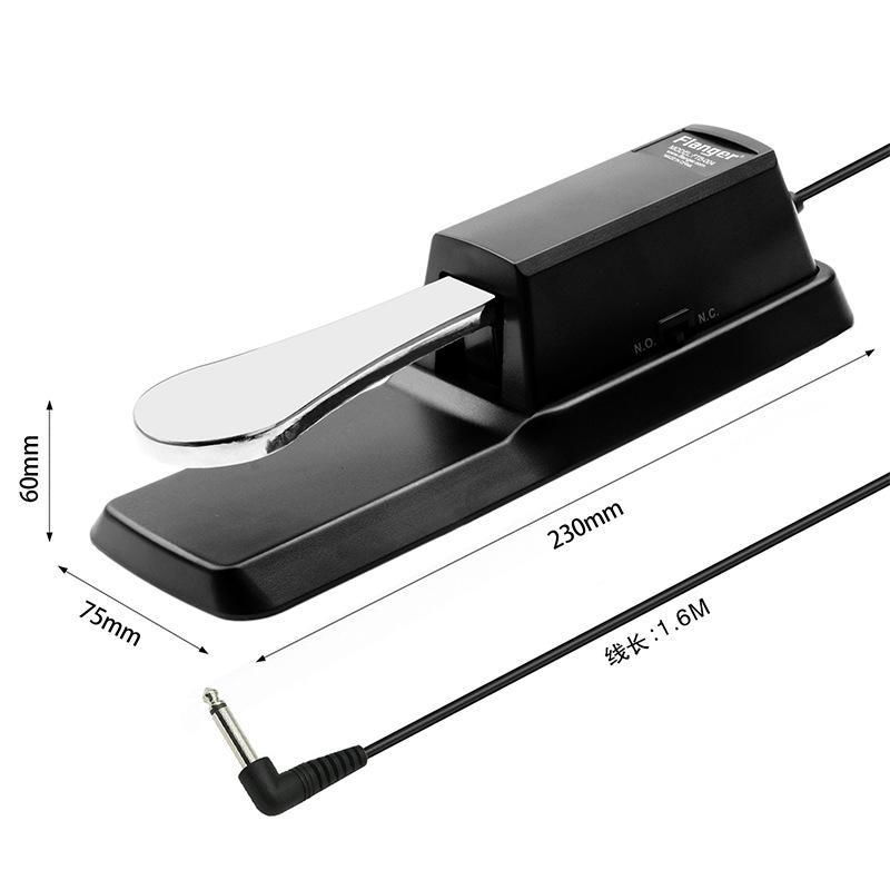 Universal Piano Sustain Foot Pedal for Keyboard Digital Piano