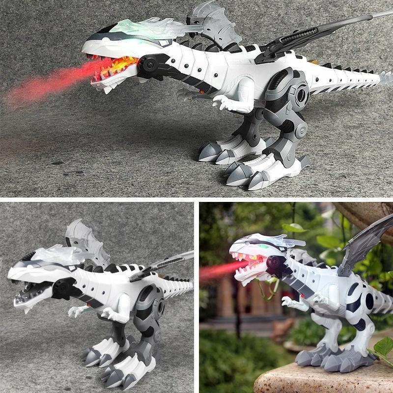 Flaming Walking Dinosaur-Dragon Hybrid Toy