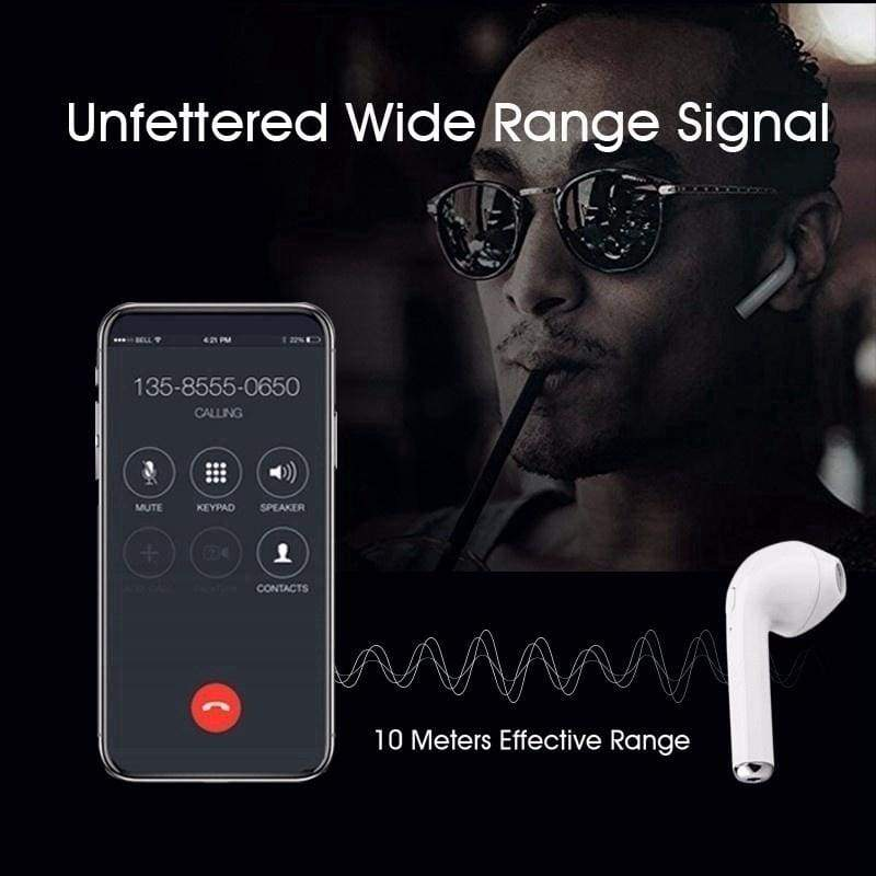 Mini Earbuds Wireless Bluetooth Headsets Headphons with Charging Box for Smartphon