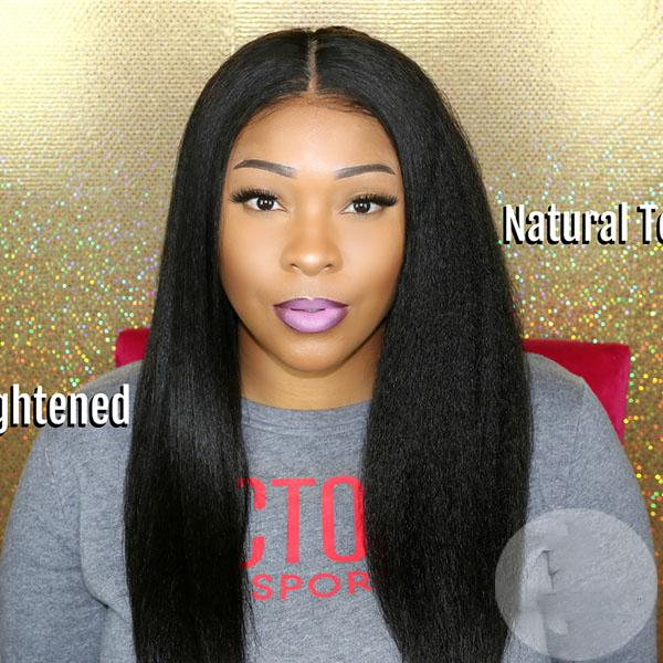 New Kinky Straight Lace Wigs Affordable Hair
