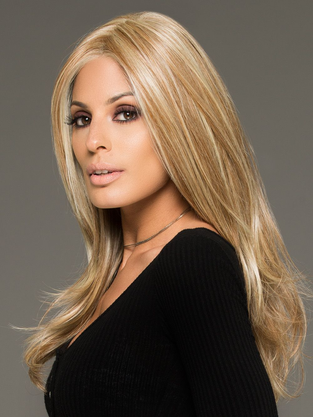 2020 Fashion Ombre Blonde Wigs 360 Lace Frontal Wig Straight