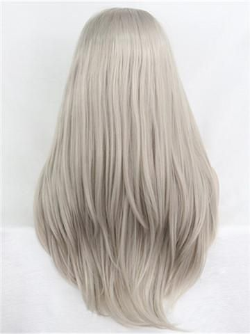 Gray Hair Wigs For African American Women Wigs For Alopecia Premium Wigs Cheap Short Wigs Real Hair Lace Front Wigs Lilac Grey Hair