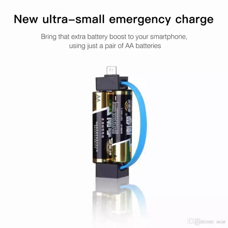 Portable Emergency Cell Phone Charger