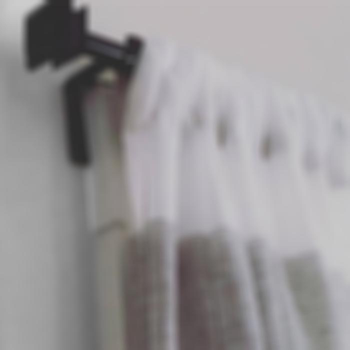 Hot Selling 50,000 PACKS (Factory Outlet) Double Center Support Curtain Rod Bracket