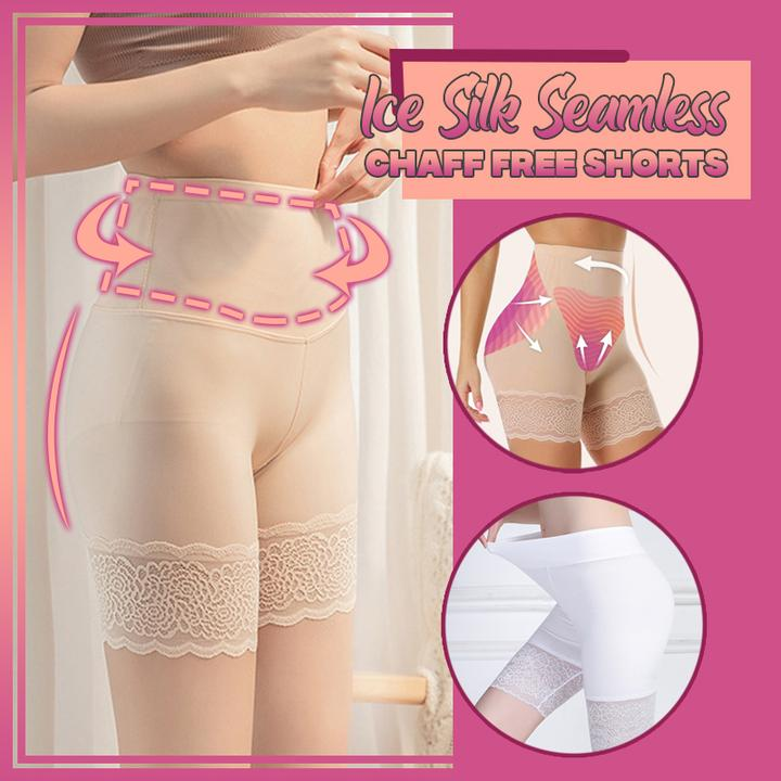 Ice Silk Seamless Chaff Free Shorts
