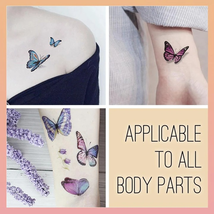 Waterproof Temporary 3D Tattoo Stickers-$39.98 & free shipping for full set
