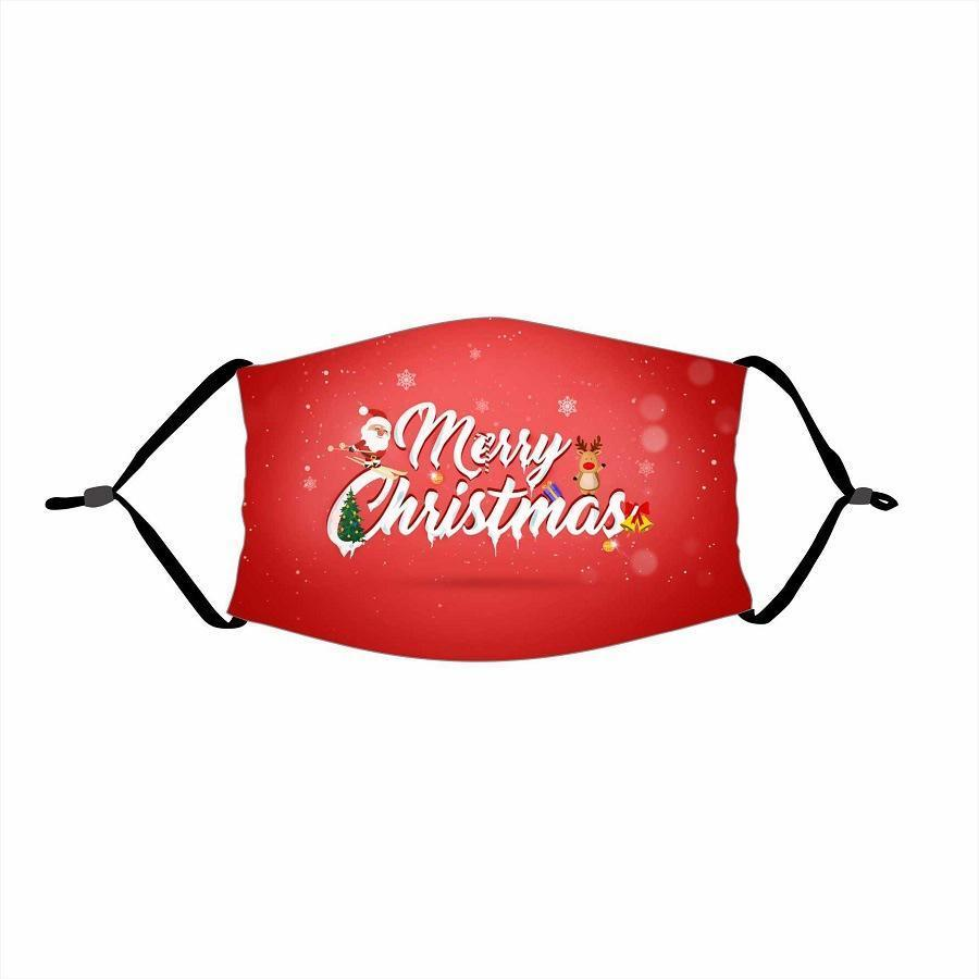 🌲🎅2020 Christmas Fabric Face Cover -10