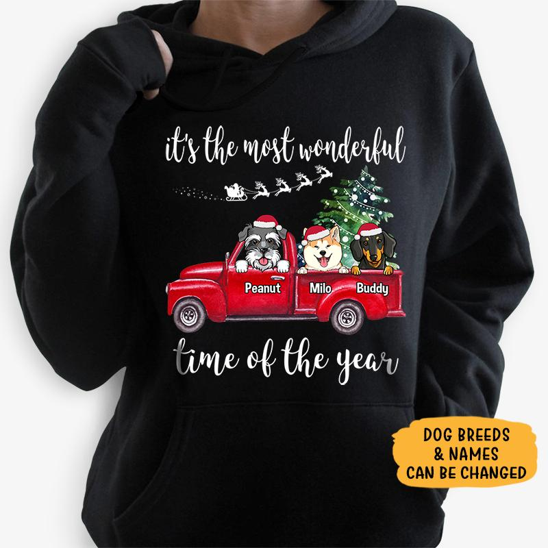Most wonderful time of the year, Personalized Custom Hoodie, Sweater, Sweatshirt
