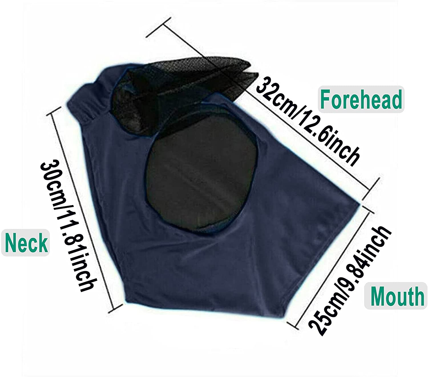 🐴Horse Fly Mask, Elasticity Fly Mask with Ears