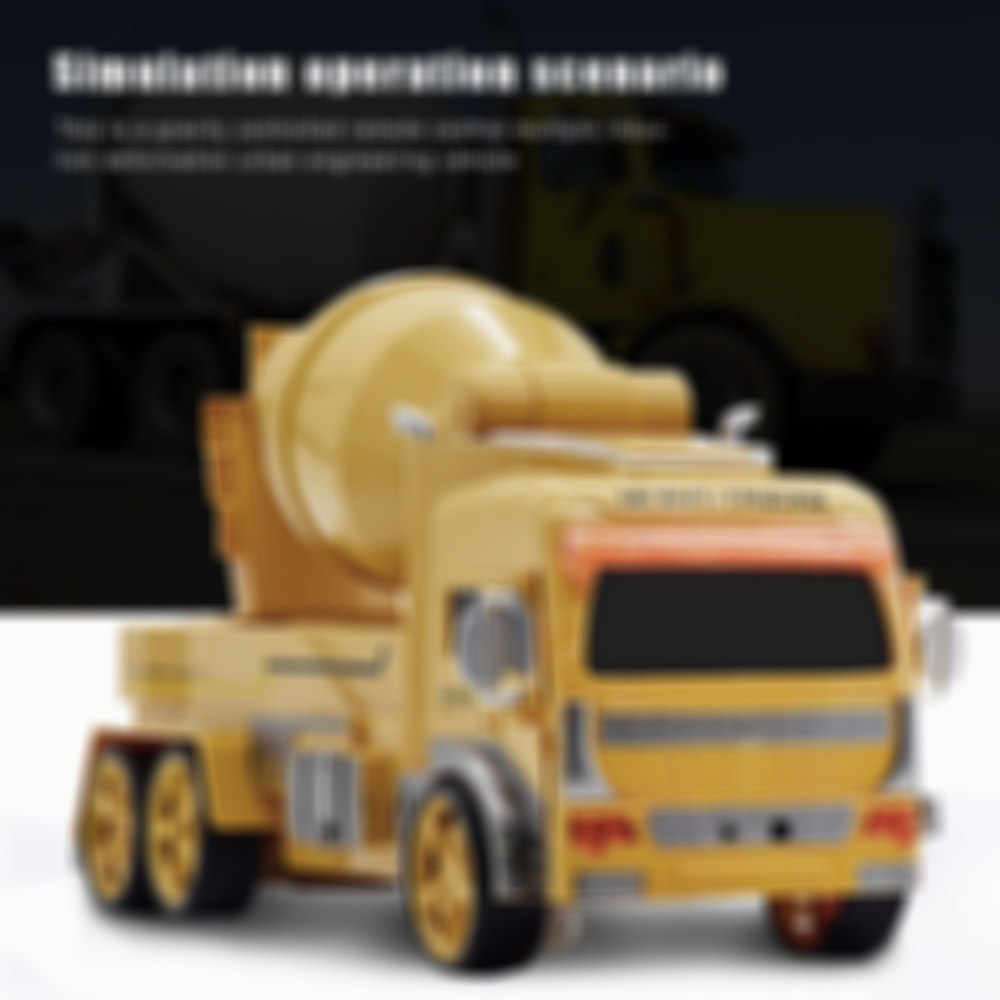 Big Gesture Sensing Deformation Remote Control Excavator Truck Concrete Mixer Car RC Engineering Vehicle Christmas Gifts for Kid