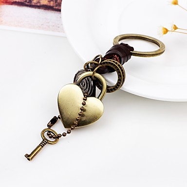 Keychain Heart Heart Fashion Ring Jewelry Gold For Daily Going out