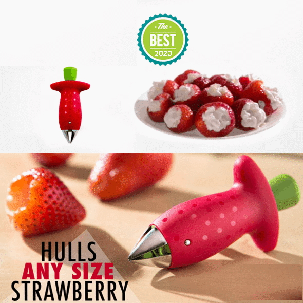 (🎄Early-Christmas Flash Sale🎄-48% OFF)Magic Strawberry Huller(Buy5get3 free+FREE shipping)