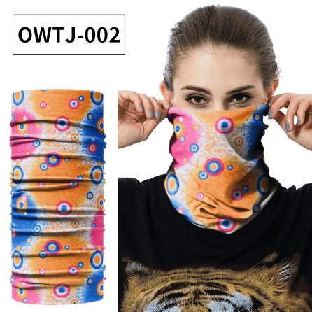 Unisex Face Mask Scarf Bike Neck Warmer Gaiter