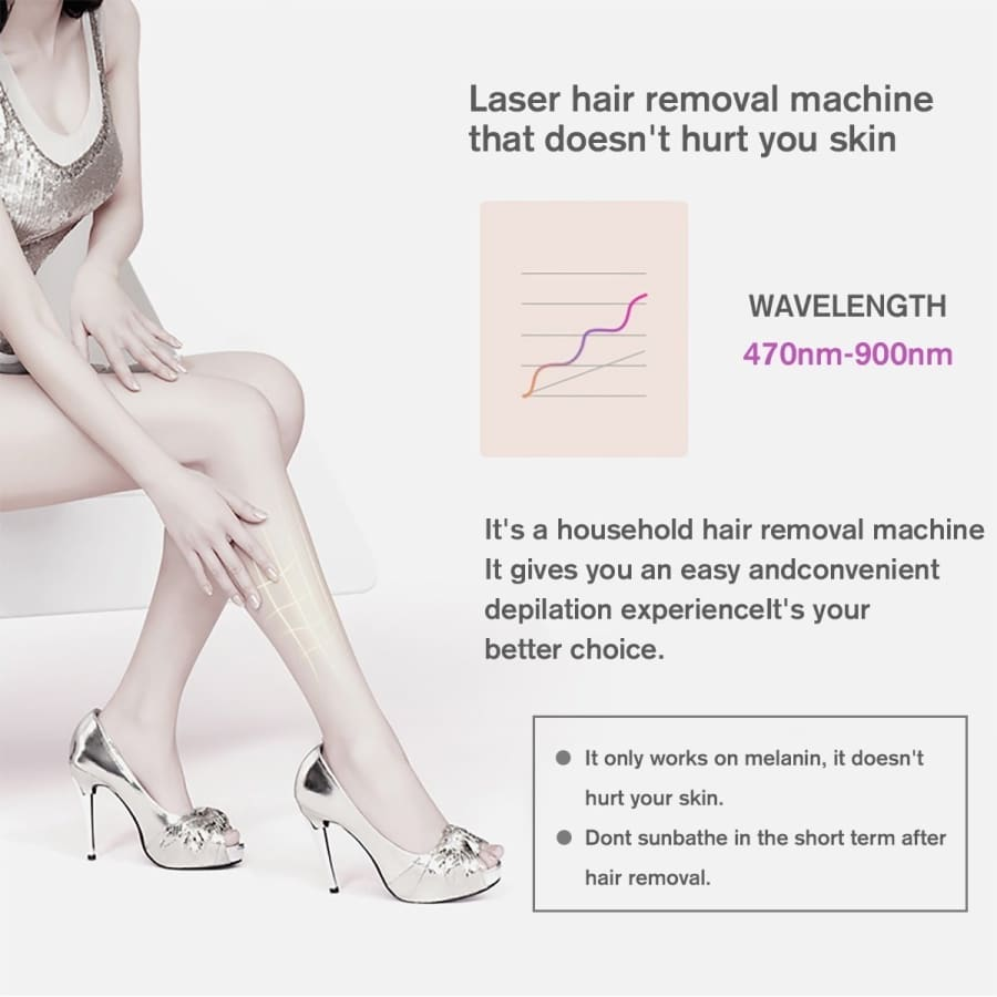4colors IPL Laser Hair Removal With Free Gift Sun Glasses and Razor 1000000 Flashes Electric Depiladora Laser Permanent Painless Epilator