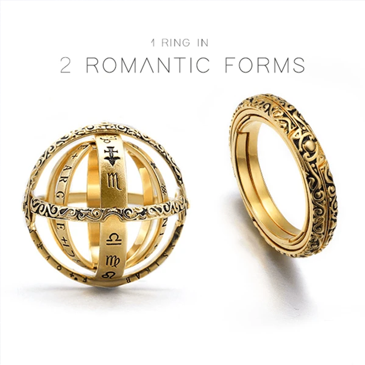 Mother's Day Offer💝--Astronomical Love Ring