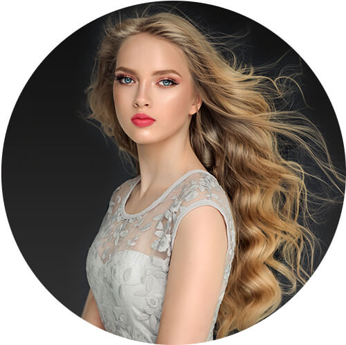 2020 Fashion Ombre Blonde Wigs 613 Human Hair