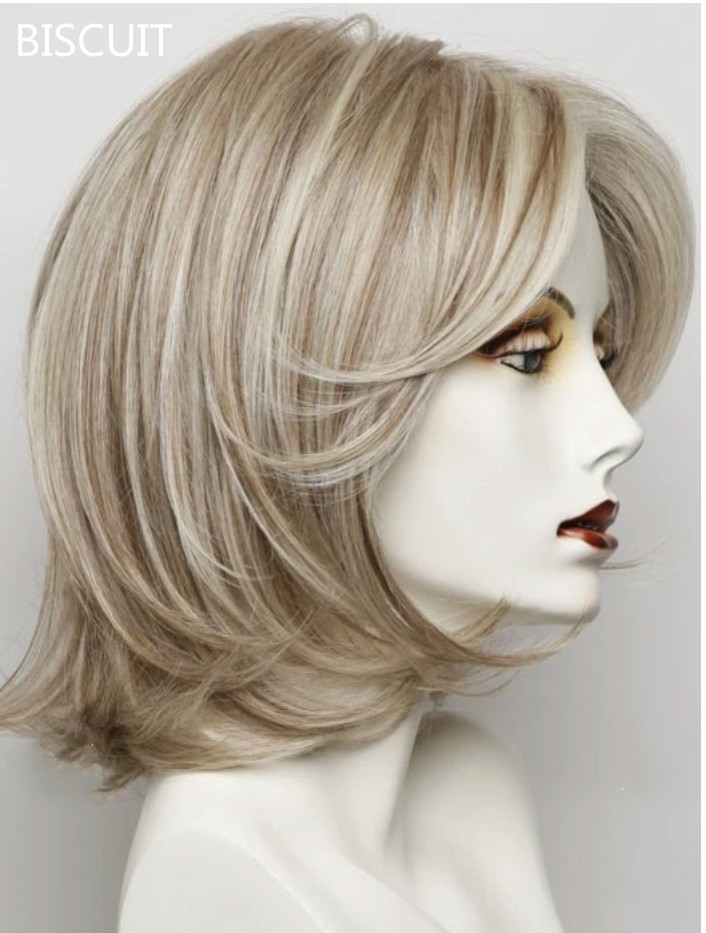 New perfect layered bob Wig 100% handmade lace wig