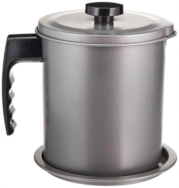 [HOT SALE!!!]Stainless Steel Oil Filter Pot