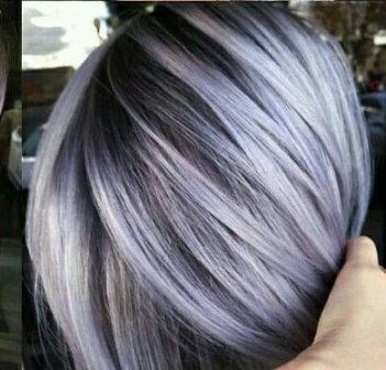 2020 New Gray Hair Wigs For African American Women Synthetic Hair Wigs For White Women 50 Shades Of Grey Hair Sew In Wig Grey Ombre Hair
