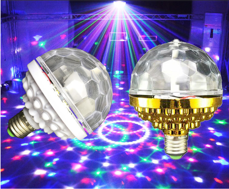 LED Colorful Rotating Stage Light