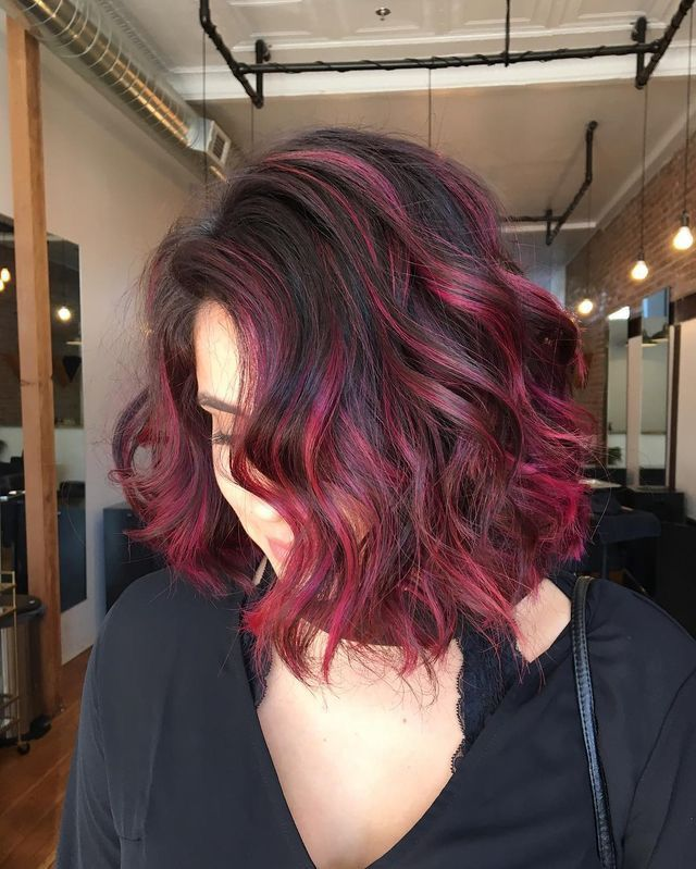 Lace Frontal Wigs Red Hair Light Red Brown Red And Black Split Wig Ombre Wig 70S Hairstyles Free Shipping