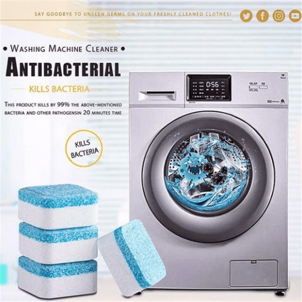 60% OFF Today!Washing Machine Deep Cleaning Tablets